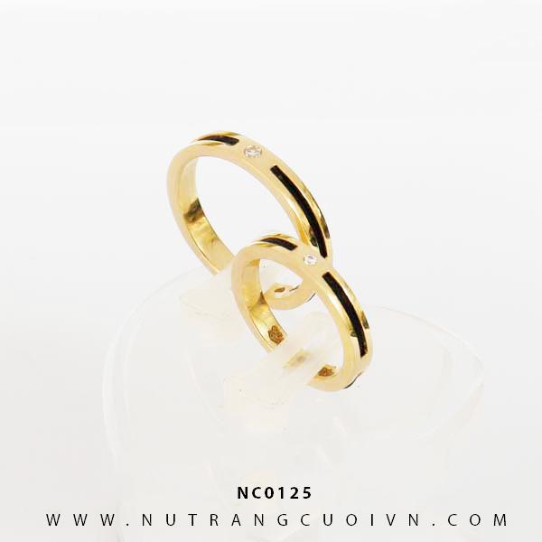 Nhẫn cưới lông voi NC0125