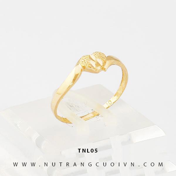 Nhẫn nữ trái tim TNL05