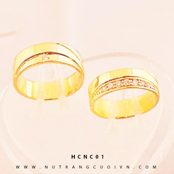 Nhẫn cưới HCNC01