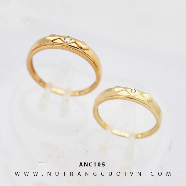 Nhẫn cưới đẹp ANC105