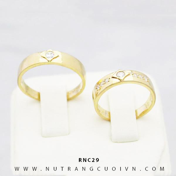 Nhẫn cưới đẹp RNC29