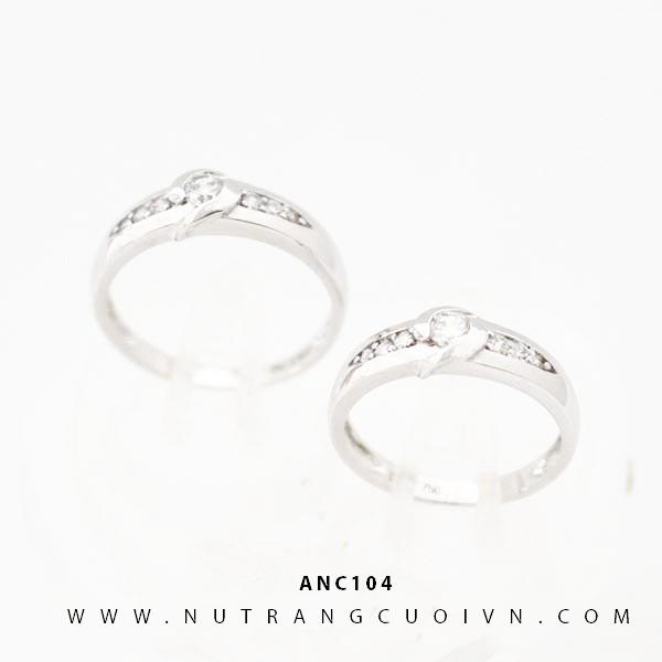 Nhẫn cưới vàng Ý ANC104
