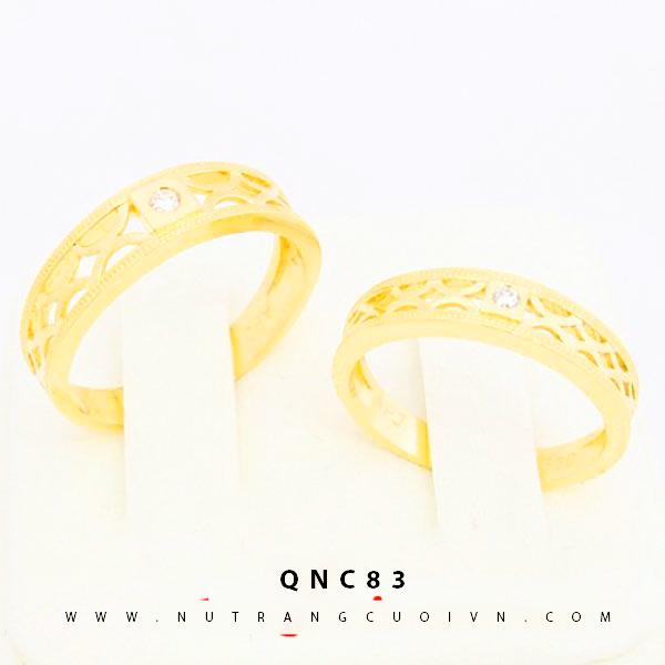 NHẪN CƯỚI ĐẸP QNC83