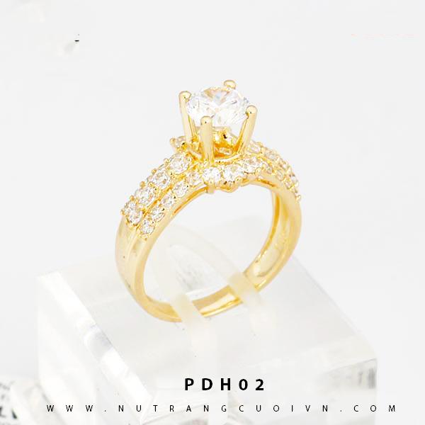 Nhẫn đính hôn - nhẫn kiểu PDH02