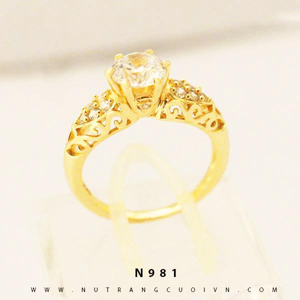 Nhẫn đính hôn N981