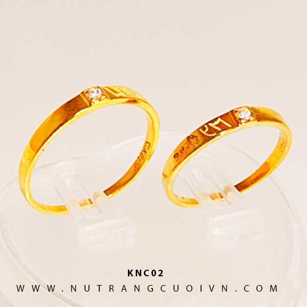 NHẪN CƯỚI KNC02