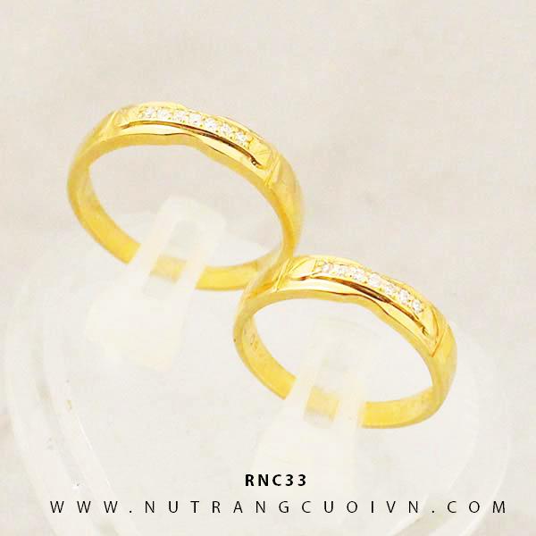 Nhẫn cưới đẹp RNC33