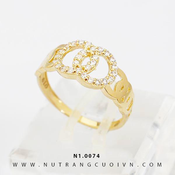 Nhẫn nữ đẹp N1.0074