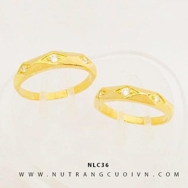NHẪN CƯỚI ĐẸP NLC36