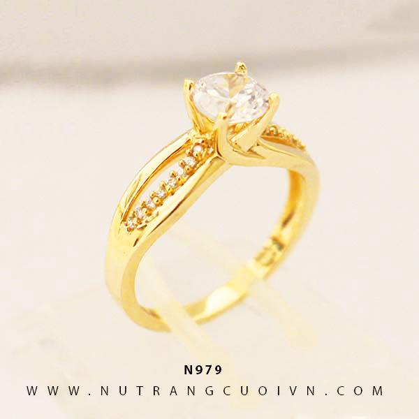 Nhẫn đính hôn N979