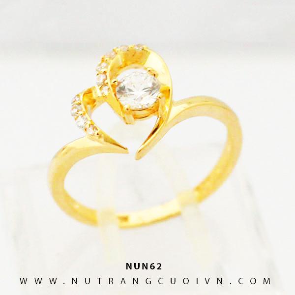 Nhẫn nữ vàng 18K NUN62