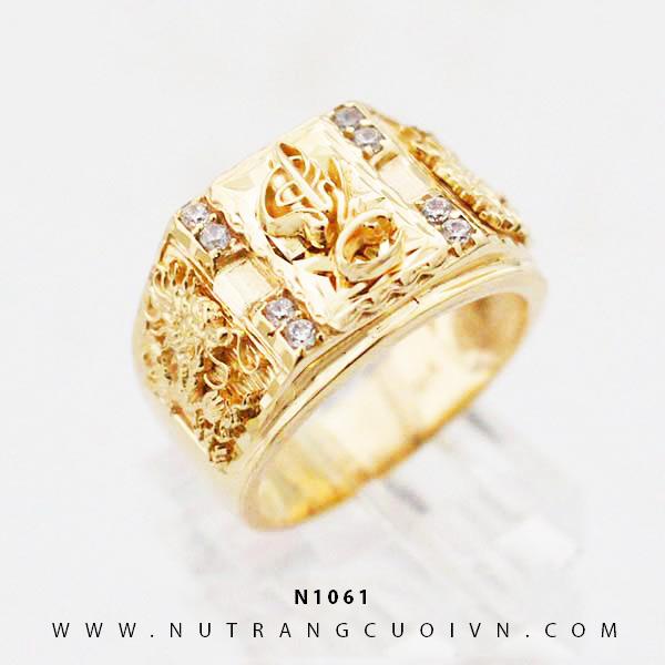 Nhẫn vàng Đại Phát N1061