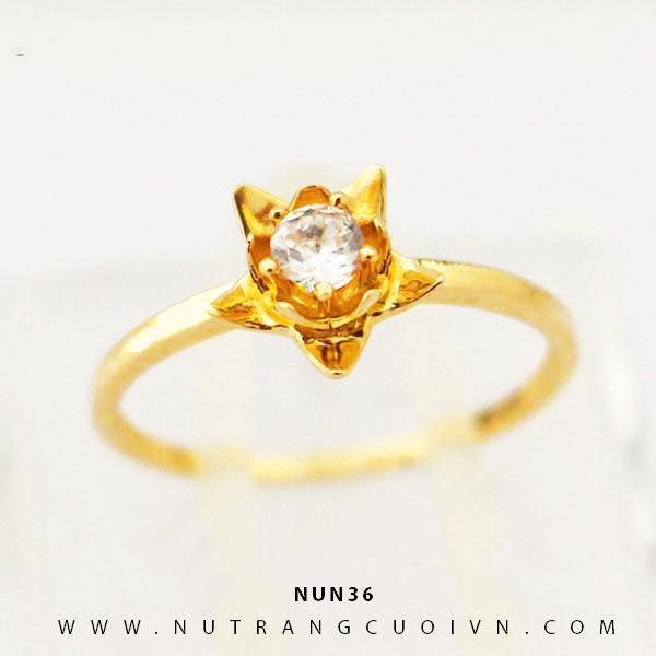Nhẫn nữ vàng 18K NUN36