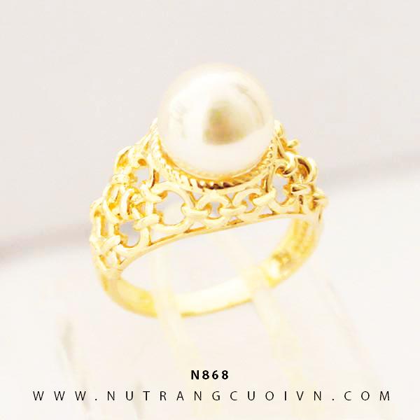 Nhẫn nữ vàng 18K N856
