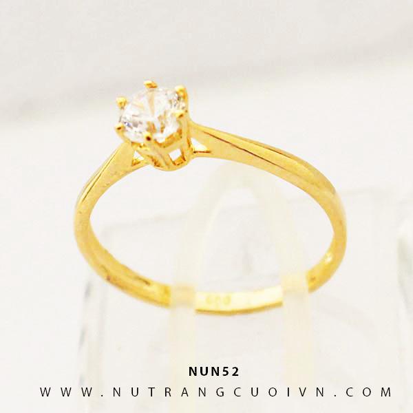 Nhẫn nữ vàng 18K NUN52