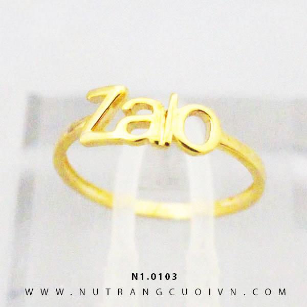 Nhẫn nữ đẹp N1.0103