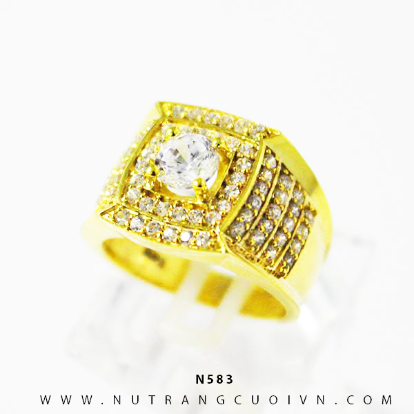 Nhẫn nam đẹp N583