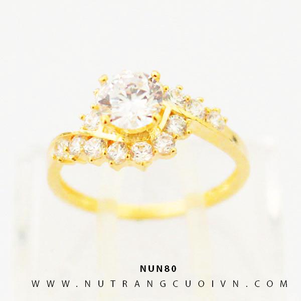 Nhẫn nữ vàng 18K NUN80