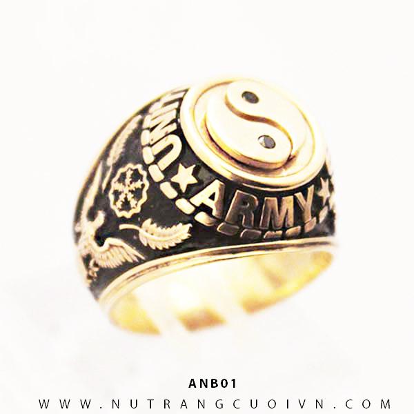 Nhẫn vàng nam ANB01