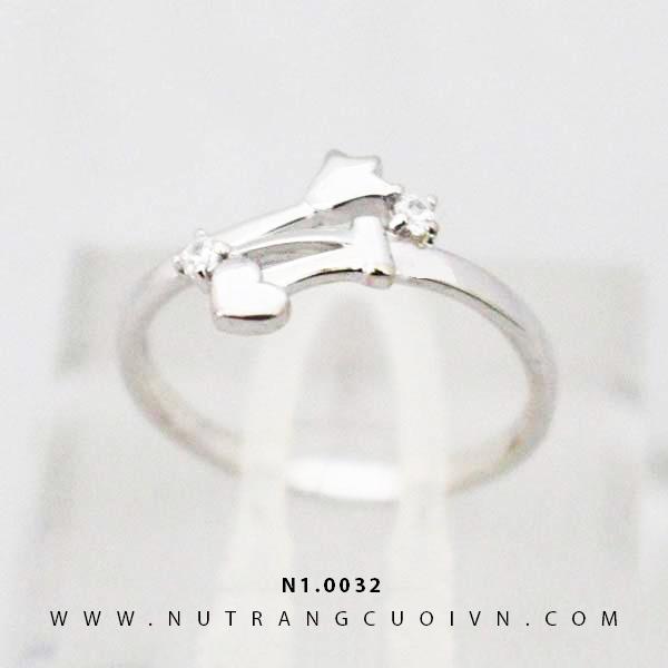 Nhẫn nữ đẹp N1.0032