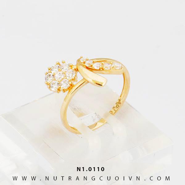 Nhẫn nữ đẹp N1.0110
