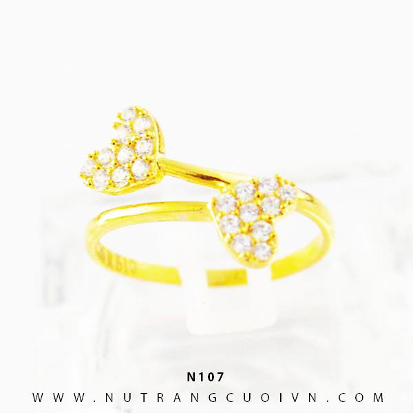 Nhẫn vàng nữ N107
