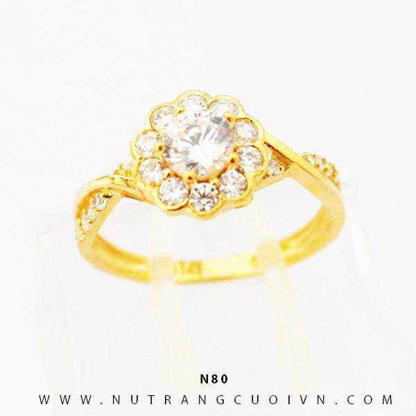 Nhẫn vàng nữ N80