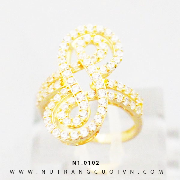 Nhẫn nữ đẹp N1.0102