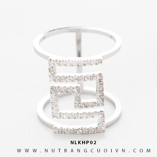 Nhẫn kiểu nữ NLKHP02