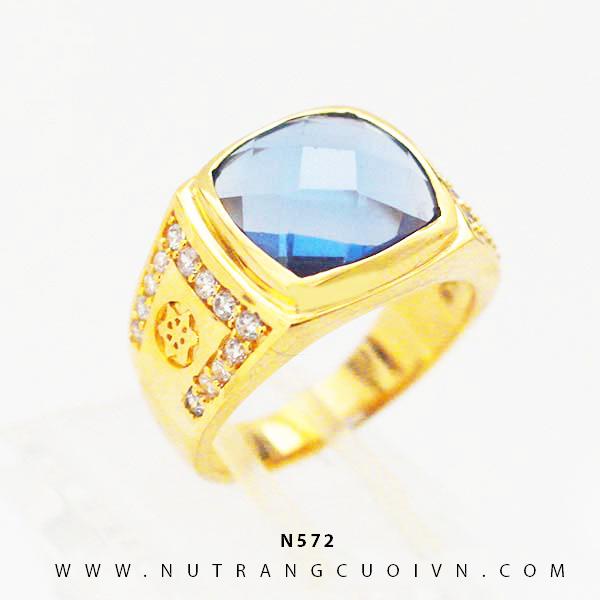 Nhẫn nam đẹp N572