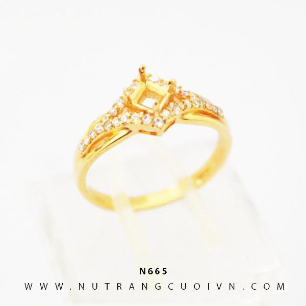 Nhẫn vàng nữ N665