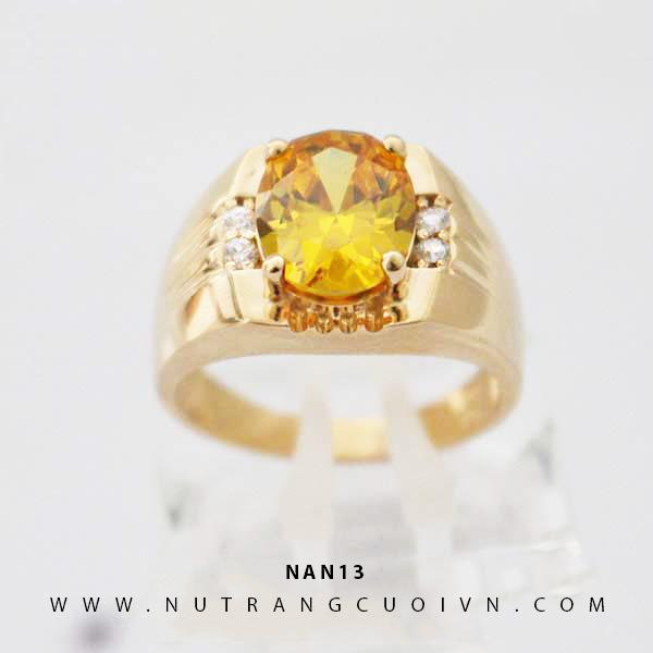 Nhẫn nam đẹp NAN13