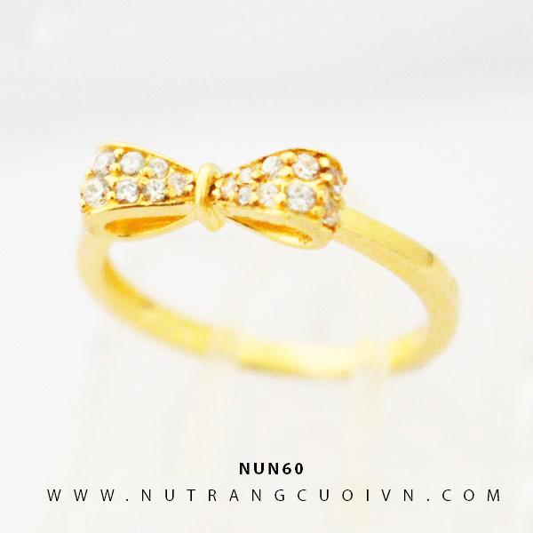 Nhẫn nữ vàng 18K NUN60