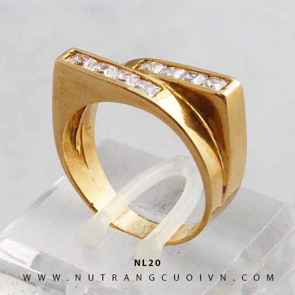 Nhẫn nữ NL20