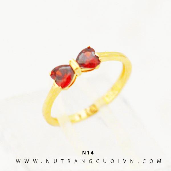 Nhẫn vàng nữ N14
