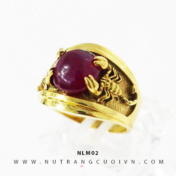 Nhẫn nam đẹp NLM02