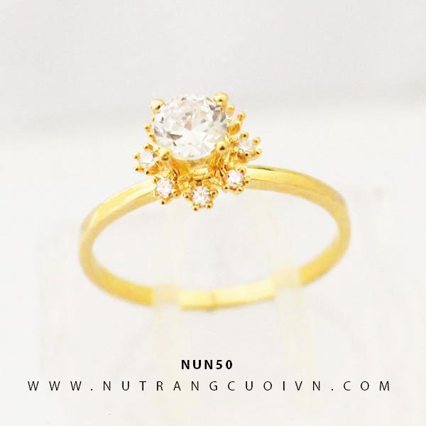 Nhẫn nữ vàng 18K NUN50
