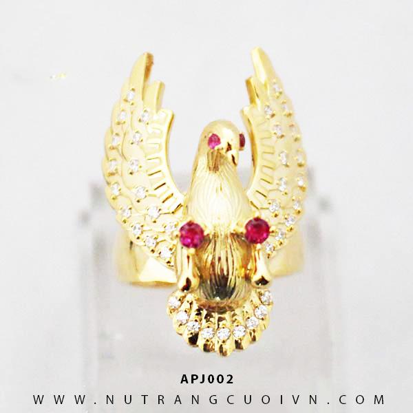 Nhẫn nam Đại Bàng APJ002