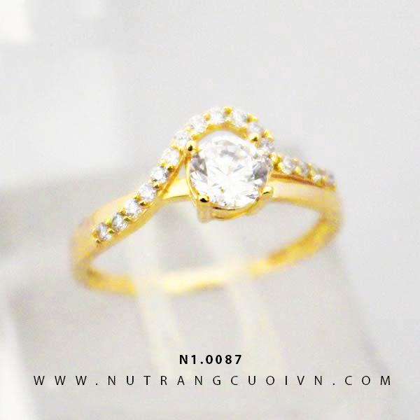 Nhẫn nữ đẹp N1.0087
