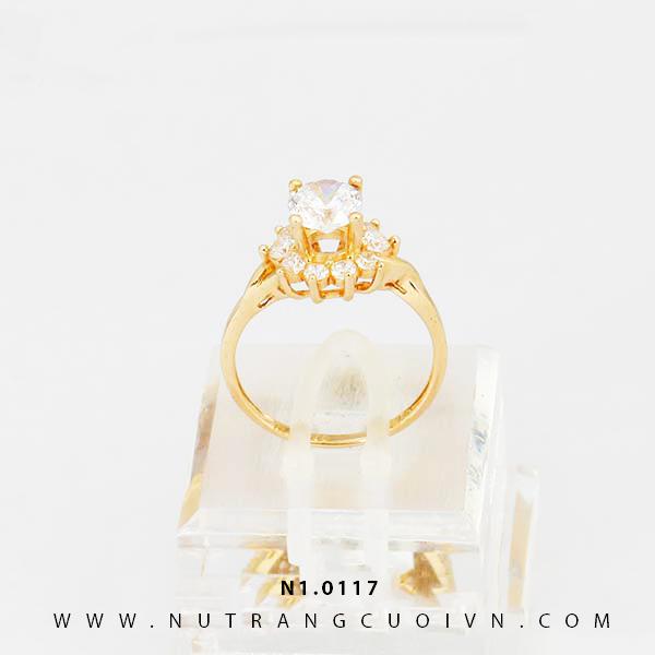 Nhẫn nữ đẹp N1.0117