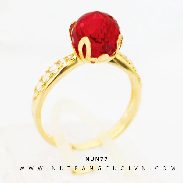 Nhẫn nữ vàng 18K NUN77
