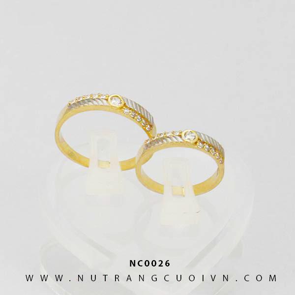 Nhẫn cưới NC0026