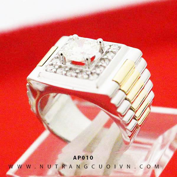 Nhẫn vàng nam AP010