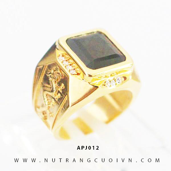 Nhẫn vàng nam APJ012