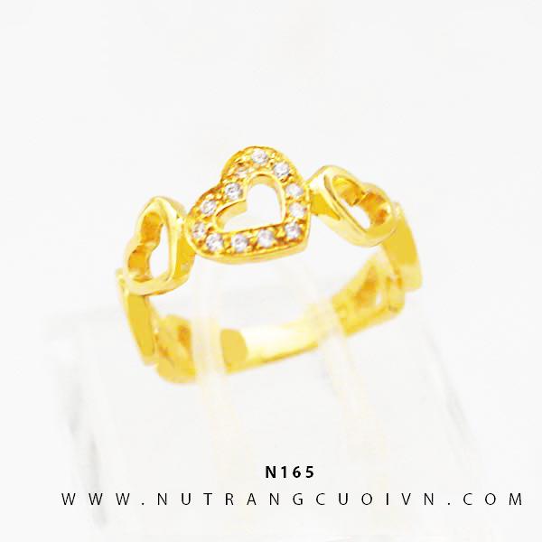 Nhẫn vàng nữ N165