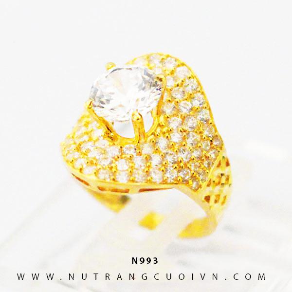 Nhẫn kiểu nữ N993
