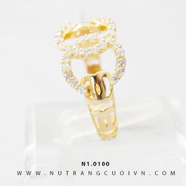 Nhẫn nữ đẹp N1.0100