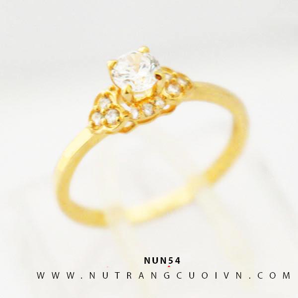 Nhẫn nữ vàng 18K NUN54