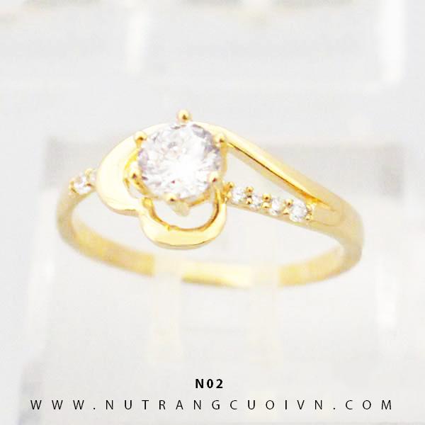 Nhẫn vàng nữ N02
