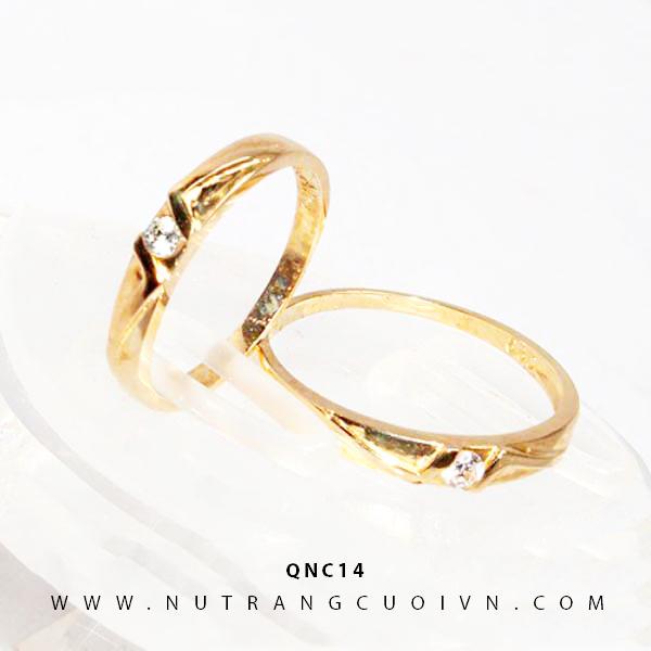NHẪN CƯỚI QNC14
